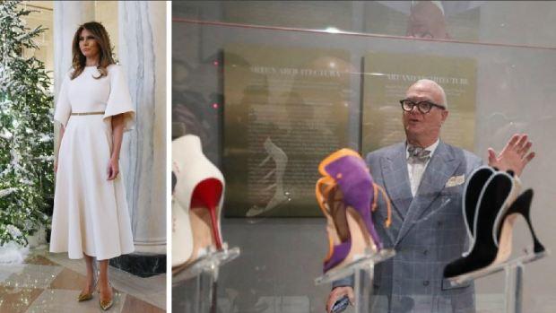 El preferido de Melania Trump, conoce al gurú de los zapatos