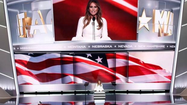 Melania Trump, así defienden su polémico discurso