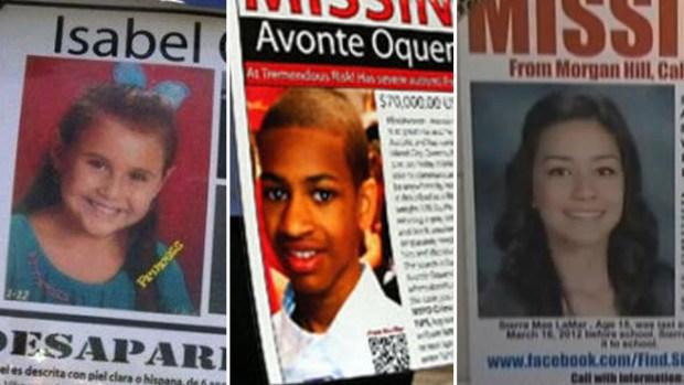 Niños que desaparecen...los casos más sonados
