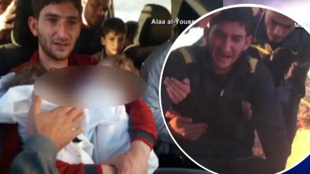 [TLMD - NATL] Padre despide a sus gemelos muertos por armas químicas