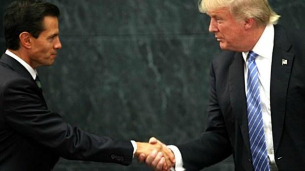 """""""Lo considero mi amigo"""": frases de Trump y Peña Nieto tras reunión"""