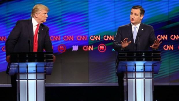 Cruz apoya a Trump y parece olvidar la guerra por las esposas