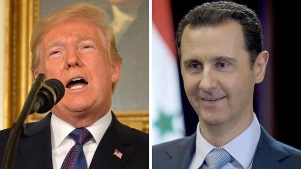 Presidente Trump ordena ataque a Siria