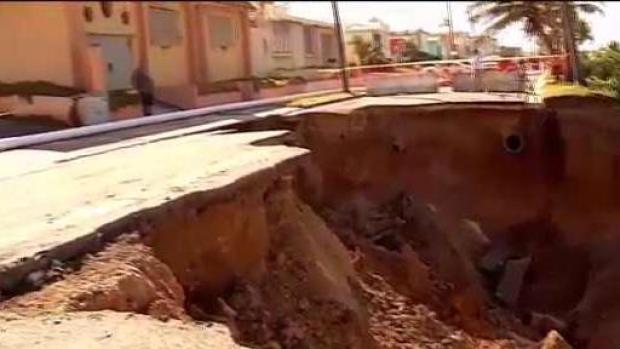 [TLMD - PR] Cráter continúa expandiéndose en Arecibo