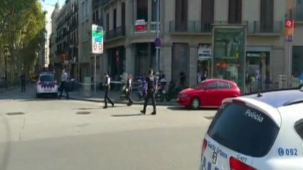 [TLMD - NATL] Una furgoneta atropella a varias personas en las Ramblas de Barcelona