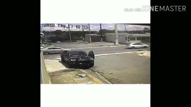 [TLMD - PR] Asaltante dispara en plena avenida para robarse un auto