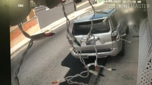 """""""Carjacking"""" queda captado en cámaras de seguridad"""
