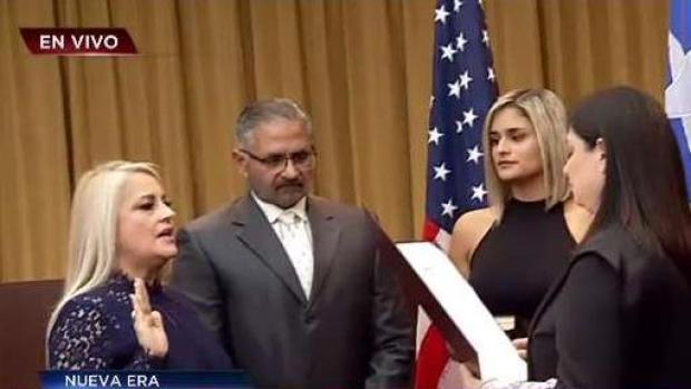 Wanda Vázquez juramenta como gobernadora