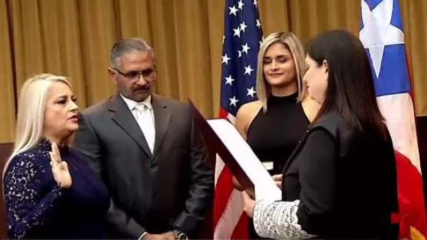 Wanda Vázquez se convierte en gobernadora