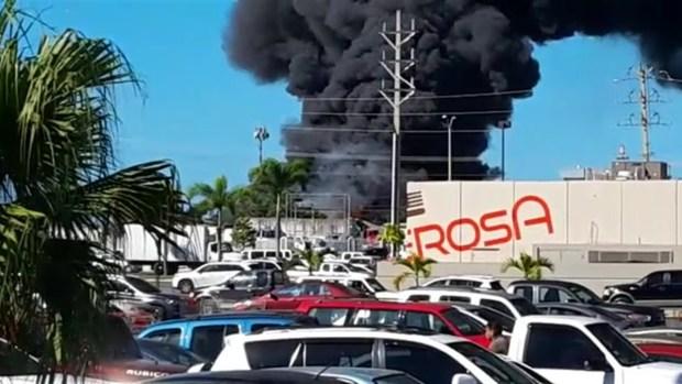 [TLMD - PR] Impresionante video de fuego en Carolina