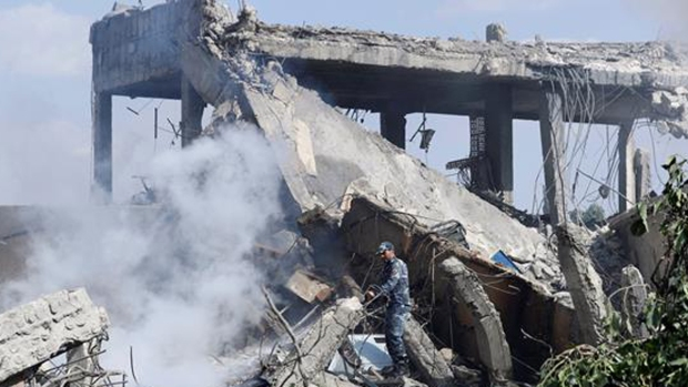 Infierno de misiles contra Siria: así quedaron las bases