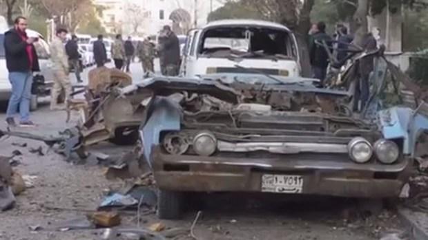 Bombazo sacude la capital de Siria