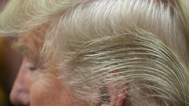 El secreto detrás del cabello de Trump