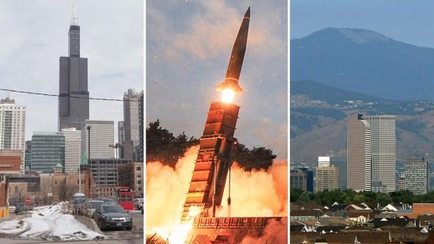 Amenaza: hasta dónde llegarían los misiles de Corea del Norte