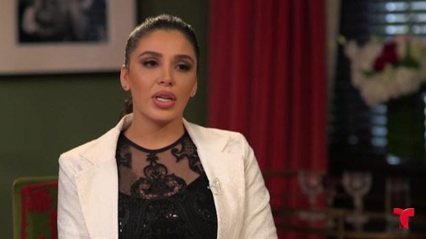 [TLMD - LV] Emma Coronel dice no haber hablado con su esposo desde su arresto