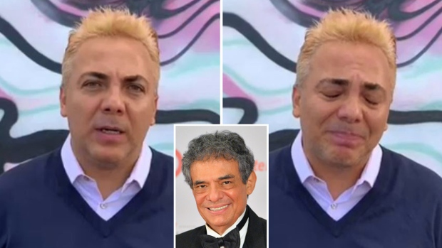 [TLMD - LV] Cristian Castro rompe en llanto en su saludo final a José José
