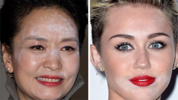 Fotos: Famosas traicionadas por el maquillaje