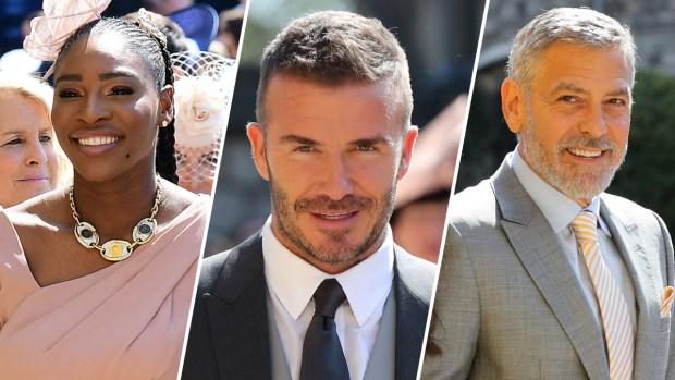 Boda real: los famosos que asistieron a la ceremonia