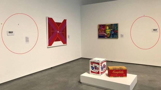 Museo retira famosas obras de arte en apoyo a inmigrantes