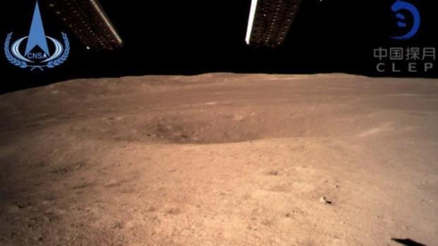 [VIDEO] Primeras imágenes de la cara oscura de la Luna