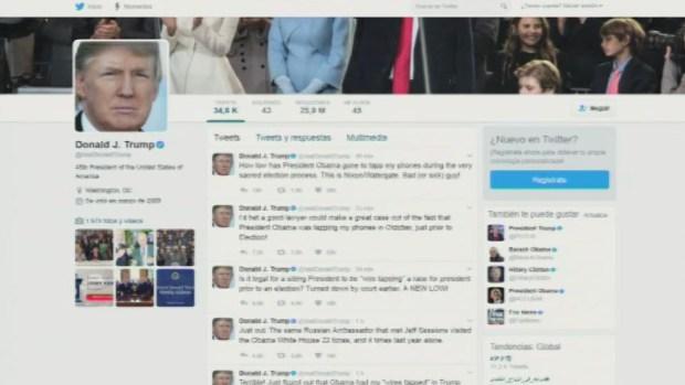 [TLMD - MIA] Trump acusa a Obama de escuchas