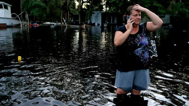 Hermine causa estragos en Florida