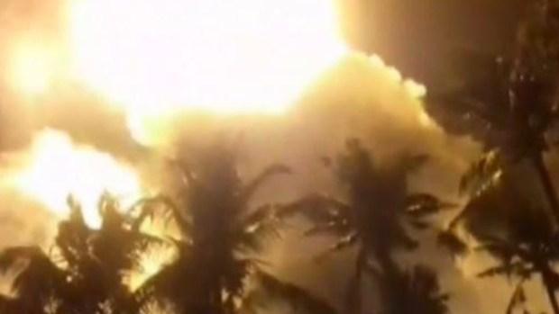 Celebración con fuegos artificiales termina en tragedia