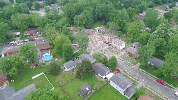 [TLMD - LV] Mortal explosión de una vivienda en Indiana