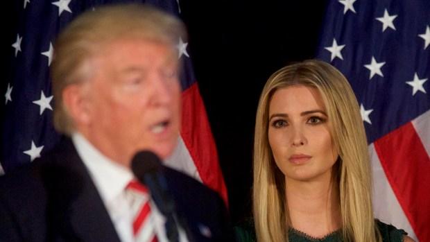 Ivanka Trump, la hija empresaria que se muda junto al padre