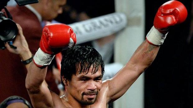 Pacquiao vuelve a ser Campeón del Mundo