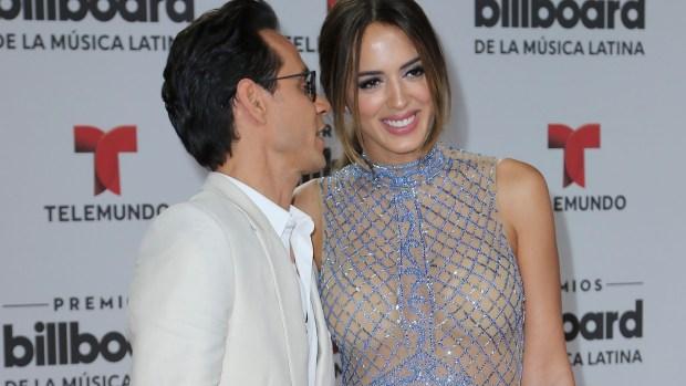 Marc Anthony y Shannon de Lima deslumbran en Billboard 2016