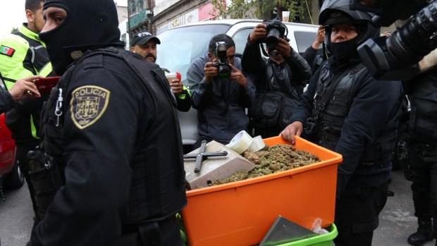 Golpe al narco: capturan a 31 del cártel Unión Tepito