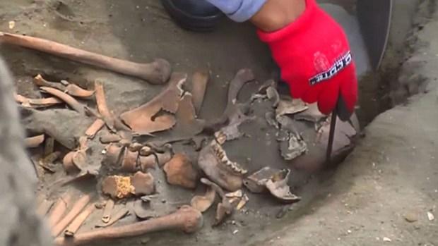 Hallan restos de niños sacrificados en sangriento rito