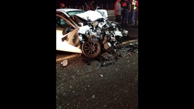 Paramédicos resultan heridos tras ser impactados por conductor