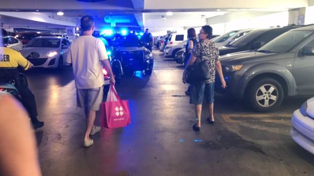 Fotos: Balacera en estacionamiento de Plaza Las Américas