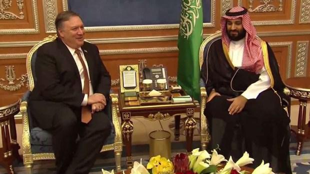 Pompeo se reúne con Mohammed bin Salman