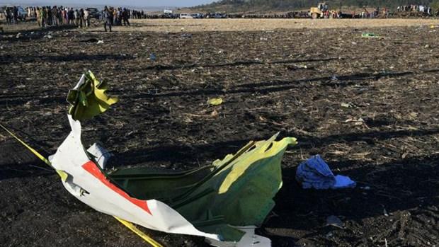 Vuelo del horror: así quedó el avión que se estrelló en Etiopía