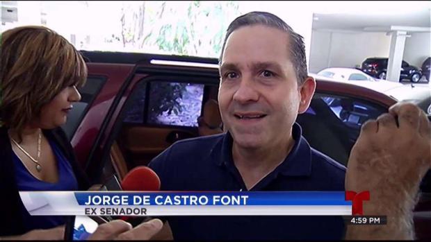 Jorge De Castro Font sale de prisión