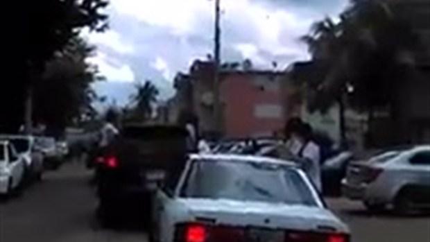 Video: Sepelio provocó tiroteo cerca de escuela