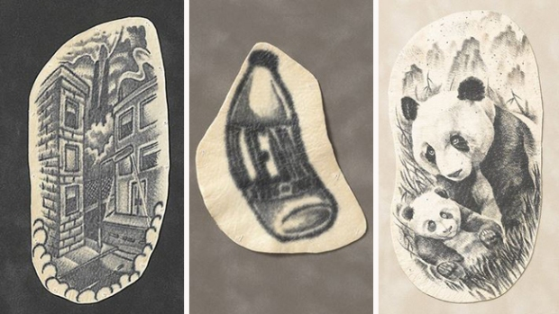 Fotos: Así se ve un tatuaje después de la muerte