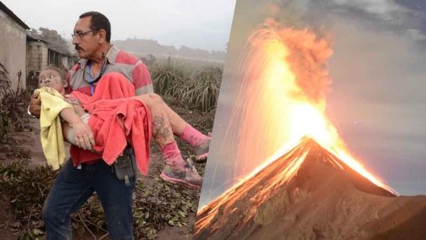 La furia de la naturaleza; ¿cuán activo es el Volcán de Fuego?