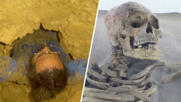 """""""La cueva de los ancestros""""; desentierran esqueletos de 7,000 años"""