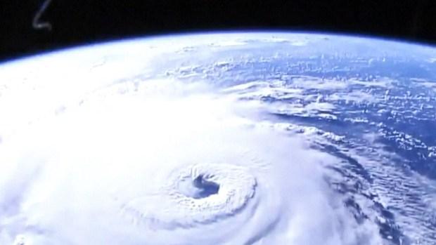 [TLMD - LV] Desde el espacio: impresionantes imágenes del huracán Florence