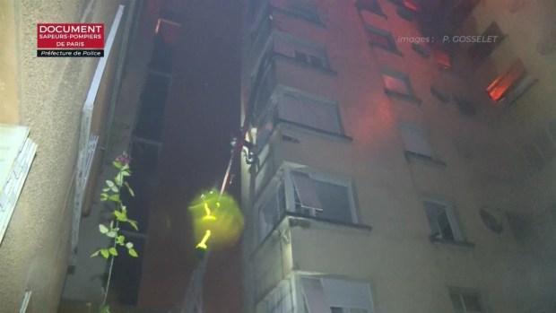 [TLMD - LV] Un incendio en París deja muertos y una treintena de heridos