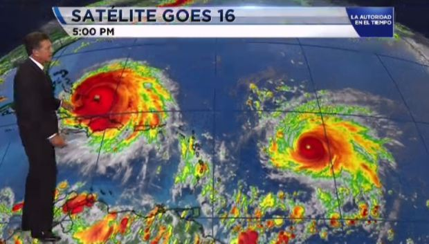 [TLMD - PR] La Autoridad en el Tiempo: Se va Irma, se acerca José