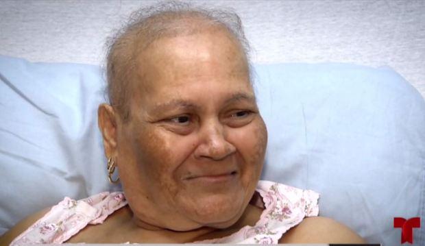 Paciente de cáncer agradecida con Raymond Arrieta