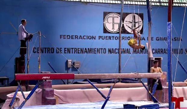 [TLMD - PR] En pésimas condiciones la sede de la federación de gimnasia