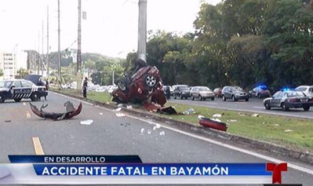 Fotos: conductor pierde la vida en trágico accidente