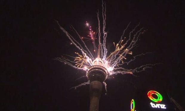 El Año Nuevo ya llegó en Nueva Zelanda