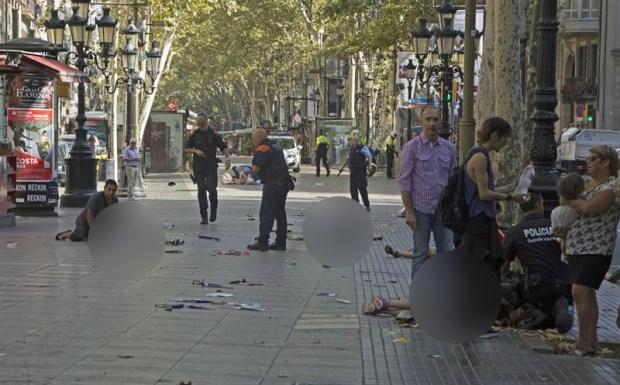 Habrían terroristas en Barcelona preparando atentado más grande